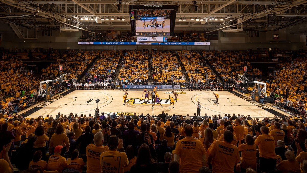 VCU's Siegel Center will allow 1,000 fans for men's and women's basketball games this season.