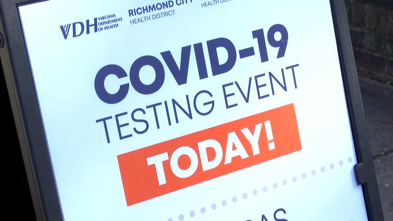 Local health districts have seen a drop in the number of people coming to COVID-19 testing...