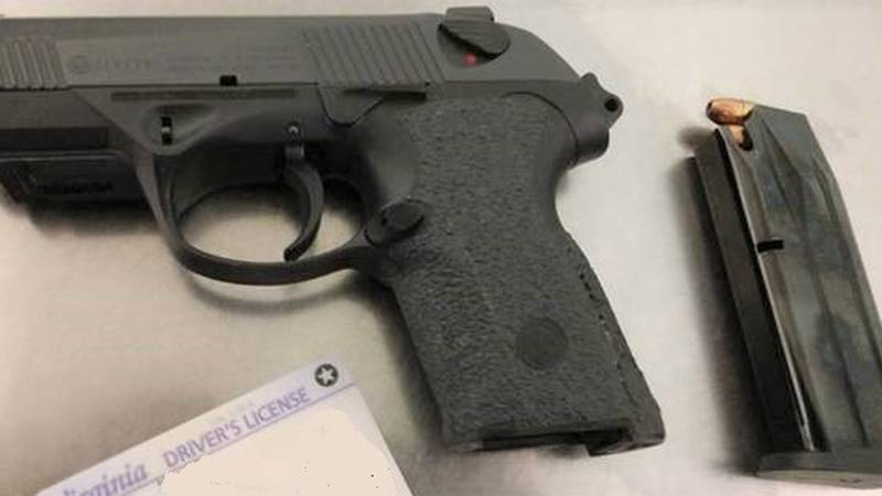 A Mechanicsville man has been charged with having a loaded gun in his carry-on bag a Richmond...