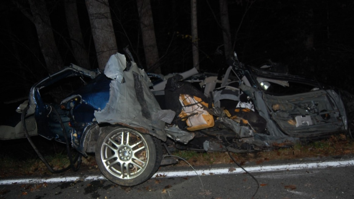 Virginia State Police released this photo from a crash that occurred in Louisa County on...