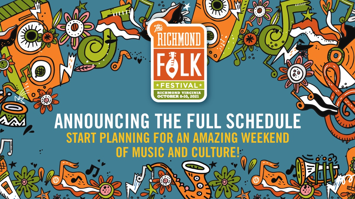 The Richmond Folk Festival is returning for an in-person event this year in October and now the...