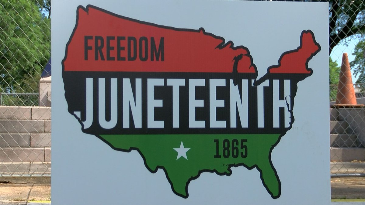 """Organizers say they are """"reclaiming these grounds"""" by having the Juneteenth Urban Music..."""