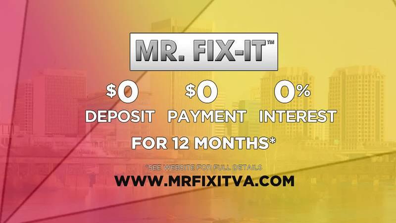Mr. Fix It's Gutter Helmet and Payment Relief Program