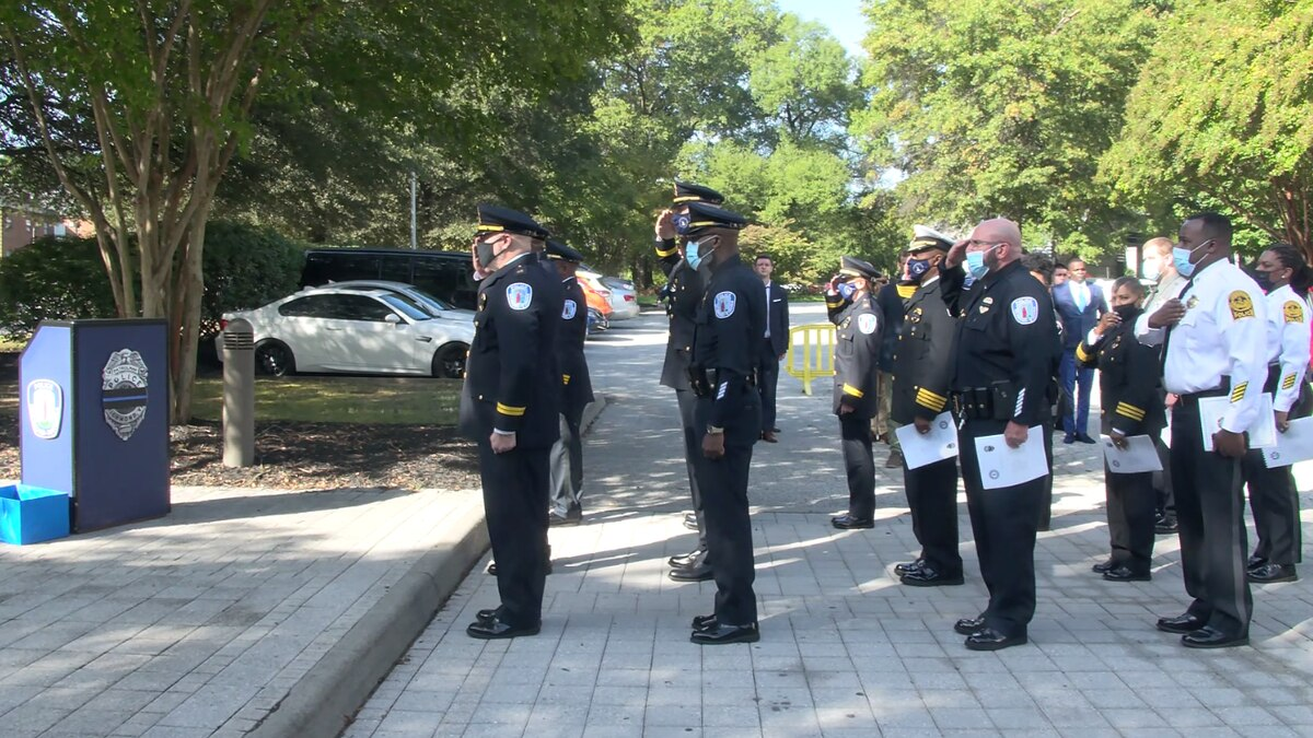 The Richmond Police Department honored its officers who lost their lives in the line of duty...