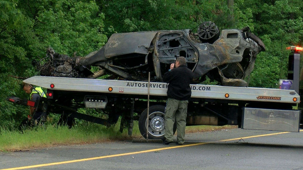 Henrico Police are investigating after officers were called to Exit 177 on I-64 for a car on...