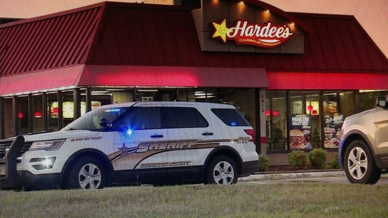 The Hardee's restaurant on Boydton Plank Road was robbed at gunpoint.
