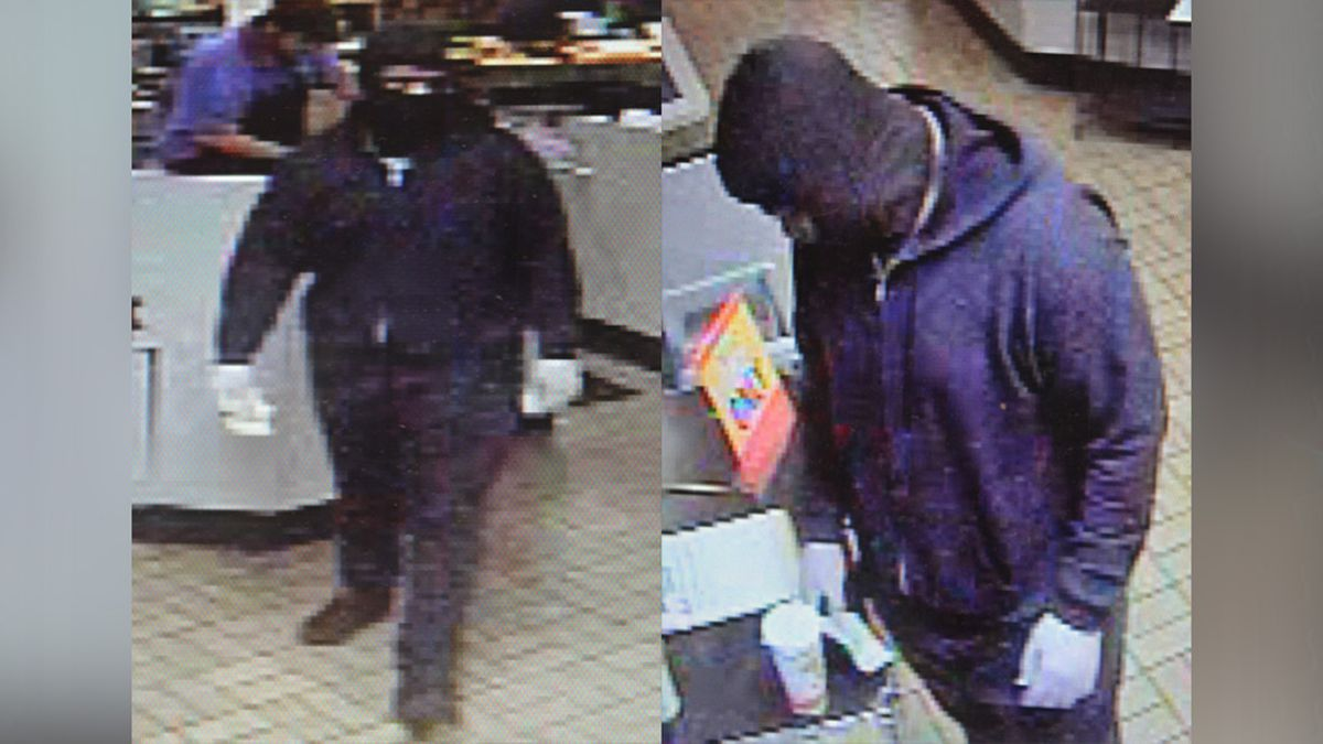 A suspect is being sought in connection to a robbery at a Waffle House in Chesterfield.