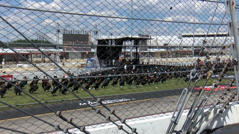 Thousands of Henrico seniors will walk across the stage at Richmond Raceway this week to...