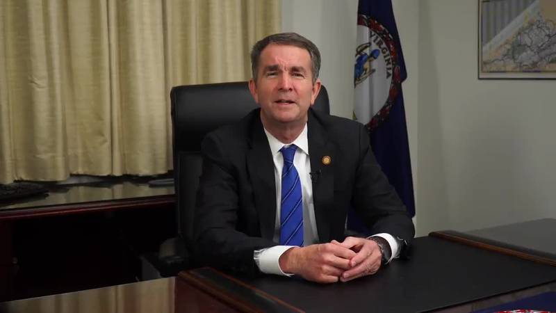 """In a video statement, Gov. Ralph Northam said he is """"committed"""" to working through the rest of..."""