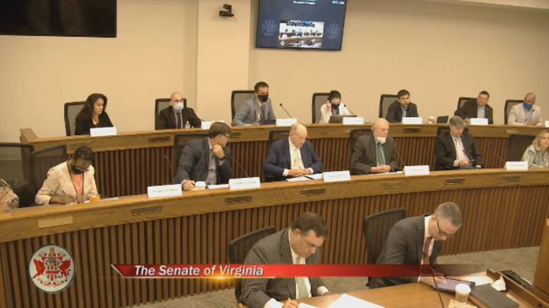 Monday's Redistricting Commission meeting.