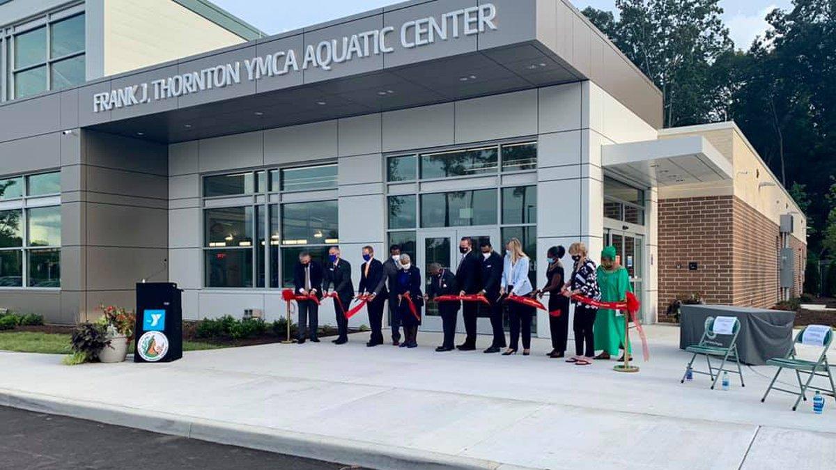 The Frank J. Thornton YMCA Aquatic Center is set to open Sept. 11.