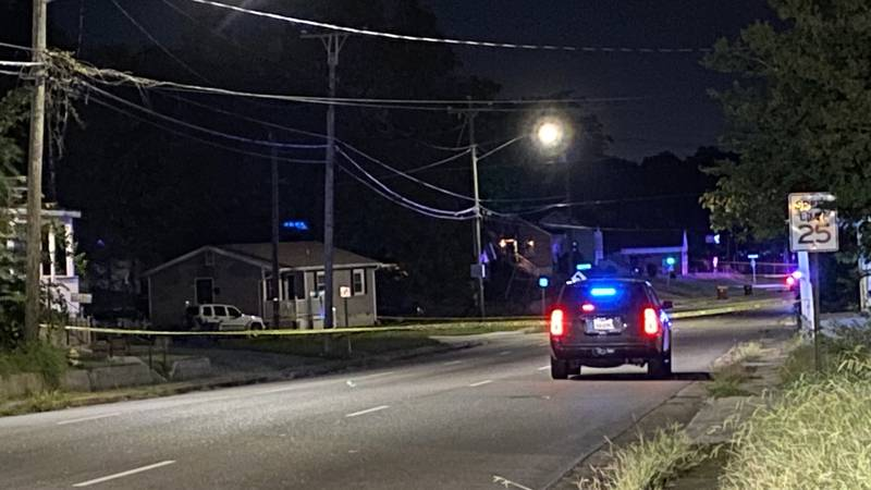 Petersburg Police are investigating after two men were shot.