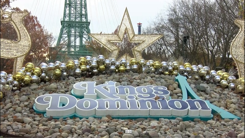 King's Dominion opening up for the first time since the pandemic.
