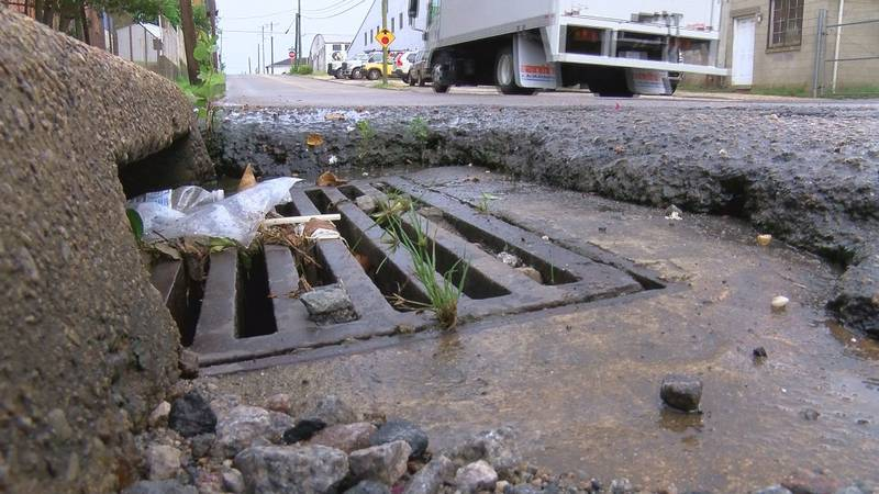 Petersburg DPW working on cleaning storm drains in flood-prone areas ahead of Ida.
