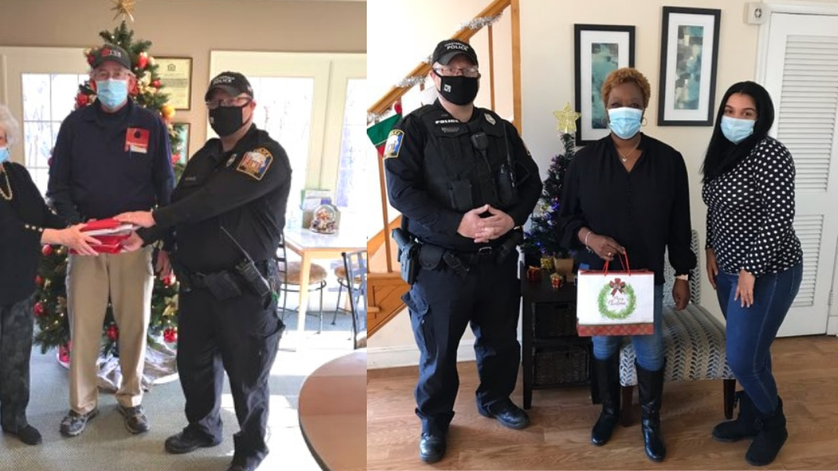 Chesterfield officers joined local apartment complexes to make greeting cards for elders in the...
