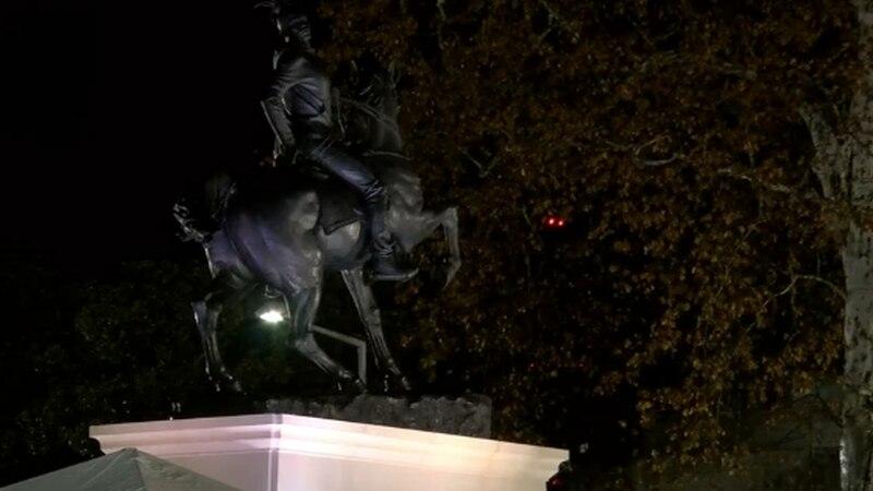 Rumors of War sculpture