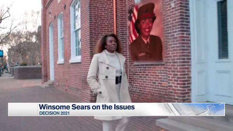 Republican Lieutenant Governor Candidate Winsome Sears discusses the issues with NBC29.