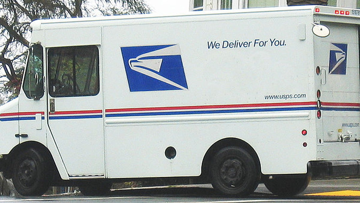 Postal workers are expected to deliver billions of mail this holiday season. (Image: Wikimedia...