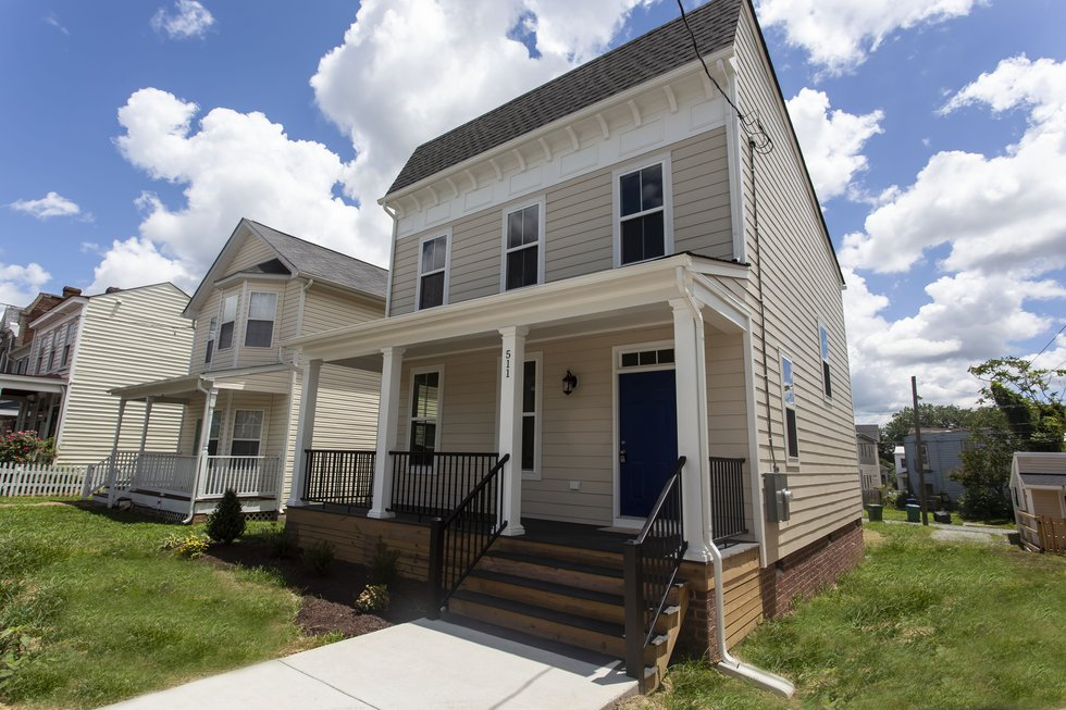 This house at 511 N. 30th St. in Church Hill is the first built specifically for the Maggie...