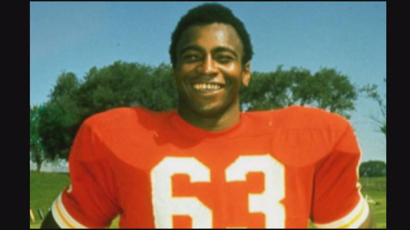 Willie Lanier with the Kansas City Chiefs
