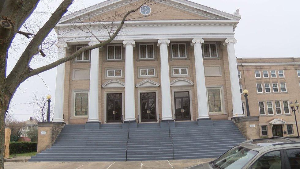 The First African Baptist Church in Richmond
