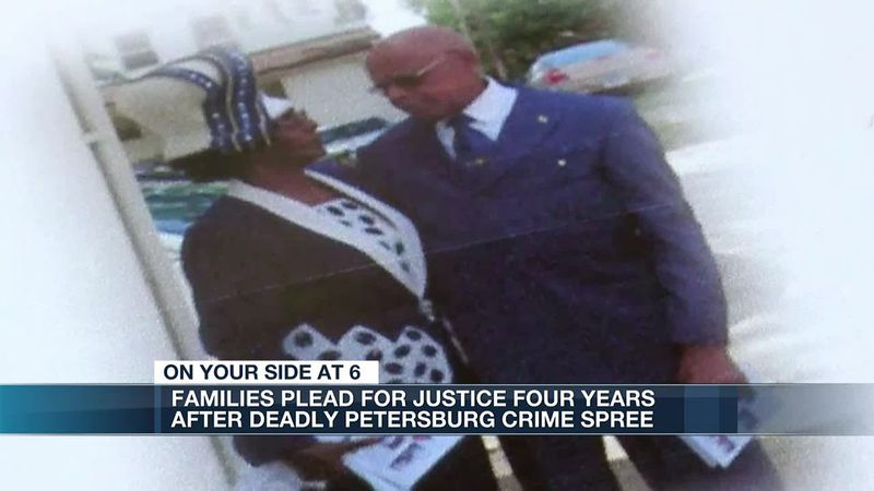 Families plead for justice four years after deadly Petersburg crime spree
