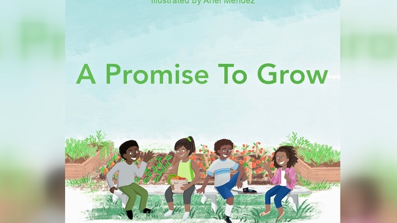 Virginia Humanities and City of Promise set to publish children's book called A Promise to Grow.
