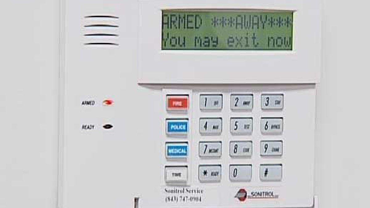 A standard house alarm.