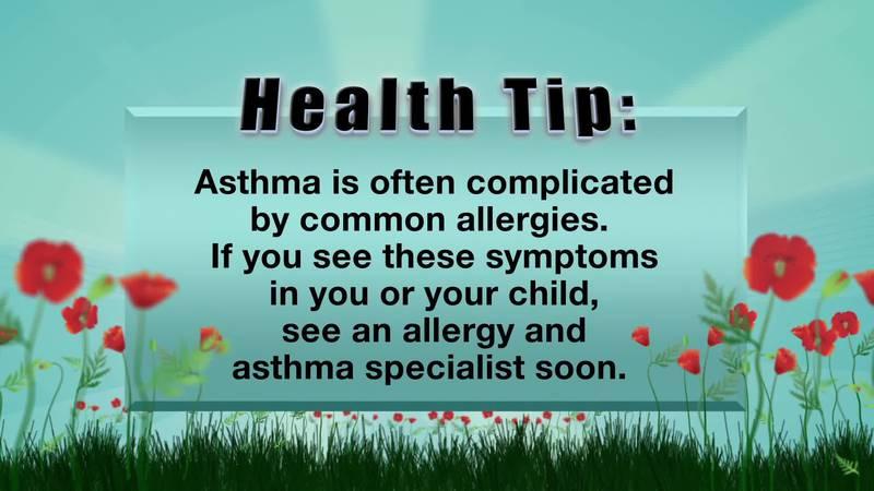 Richmond Allergy Tip #1