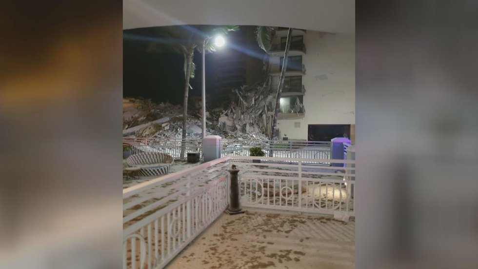 This is what Wayne Conner saw when he walked outside after the condo collapsed in Surfside,...