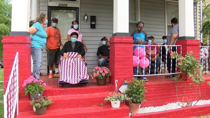 People in Richmond celebrated Mother's Day with each other as COVID-19 cases drop around...