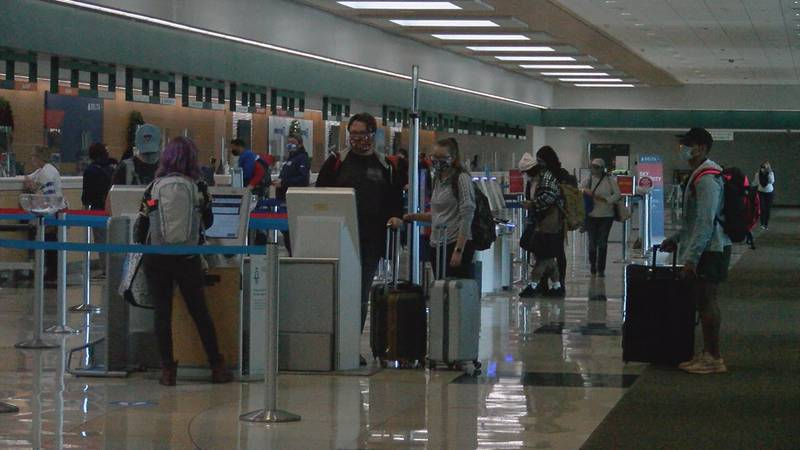Fewer travelers expected for the holidays nationwide and statewide.