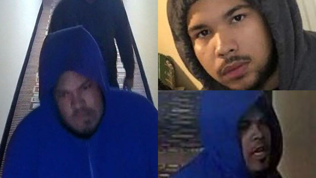 The Henrico County Police Division is looking to identify two individuals.