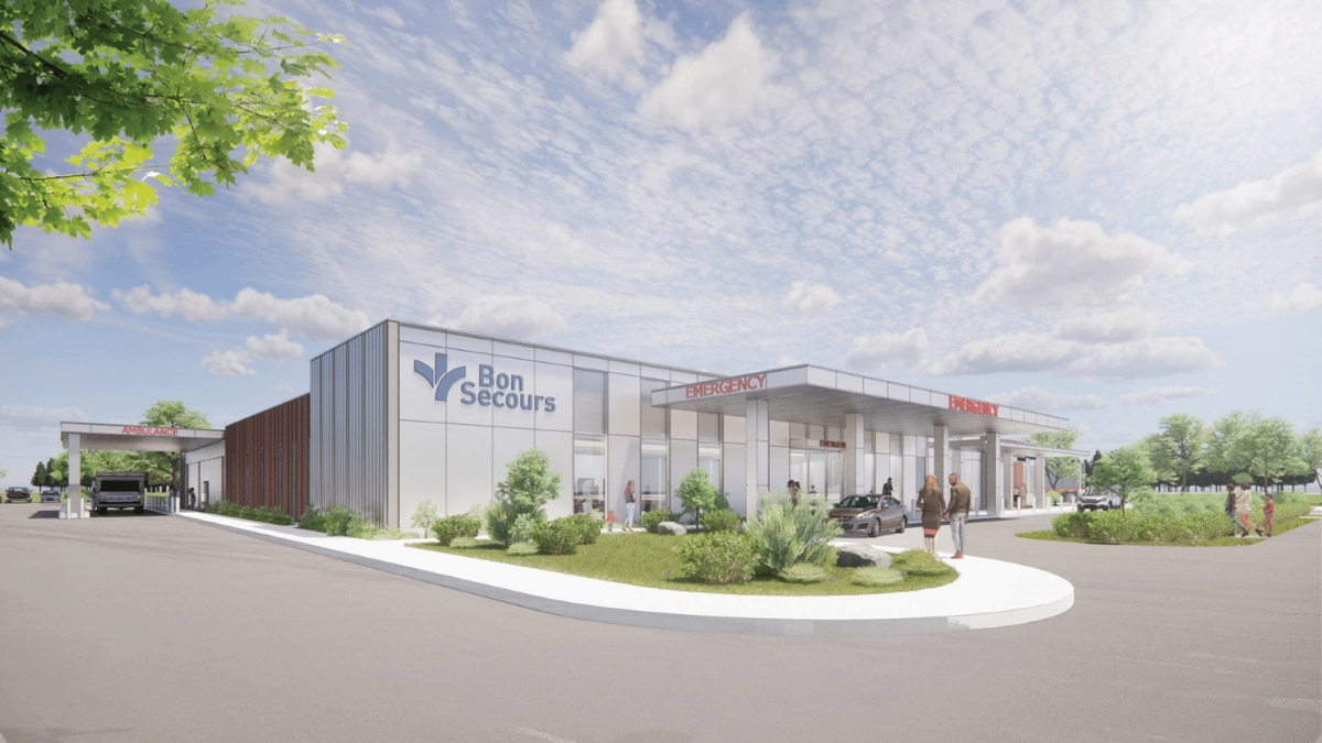 Bon Secours broke ground on Thursday on its new freestanding emergency department and imaging...
