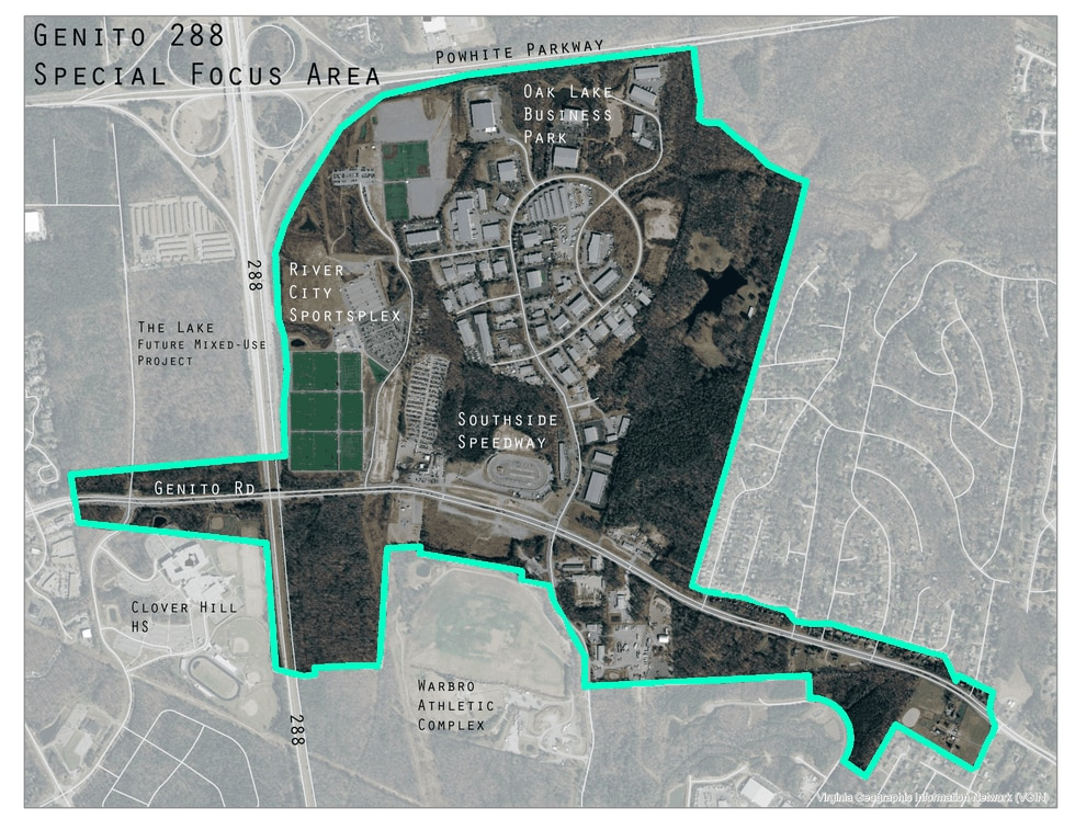 Chesterfield County planners are asking for public input about what to do with this land near...