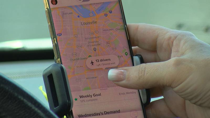 Lyft and Uber drivers are striking for higher wages and more benefits across the country.