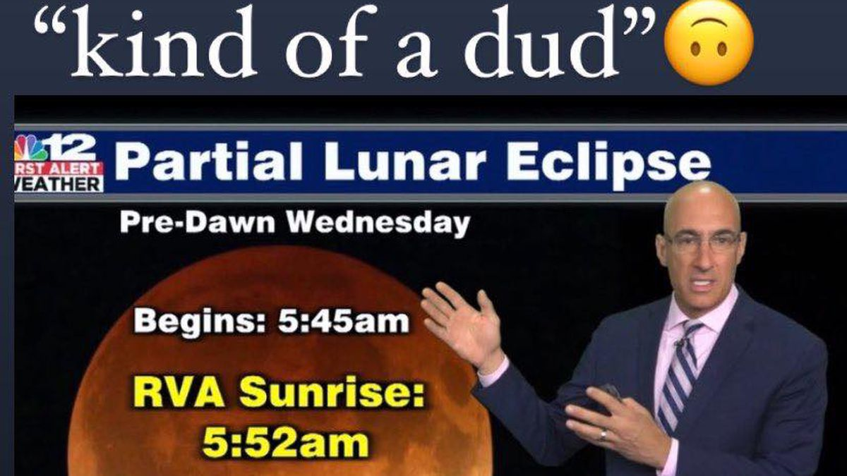 For most of us, the lunar eclipse Wednesday morning will be a dud.