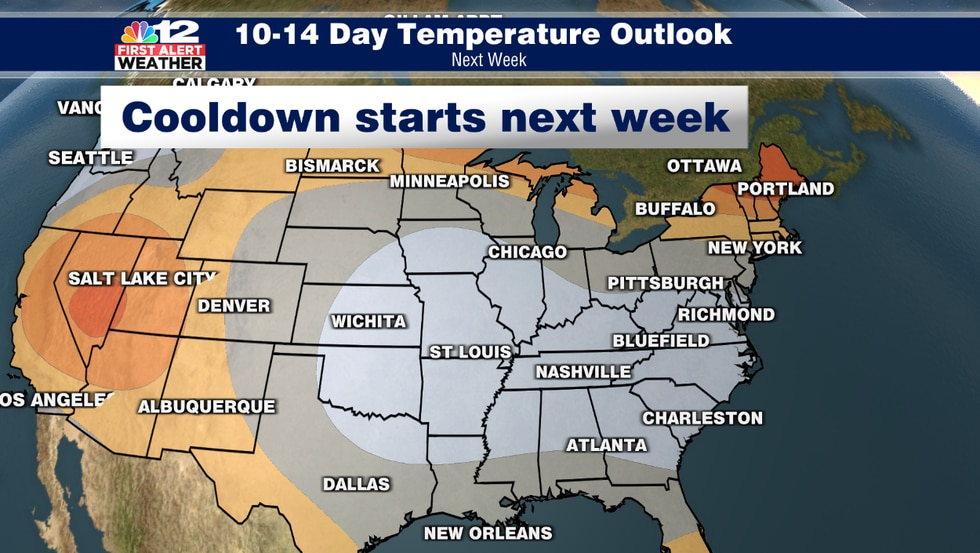 Cooler weather is expected in the second half of April. We may even need to watch for another...