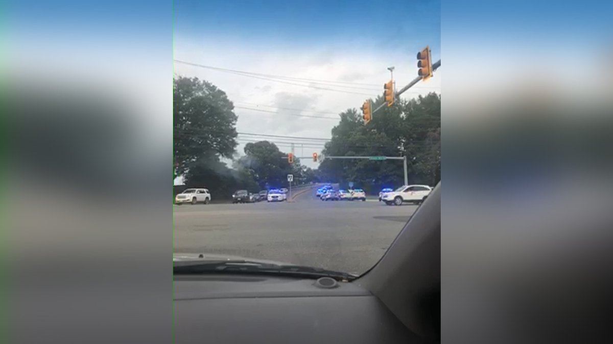 A Henrico police officer is recovering after possibly being exposed to opioids while...
