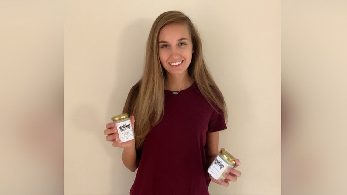 A Henrico teenager is selling candles to help benefit a mental health organization.