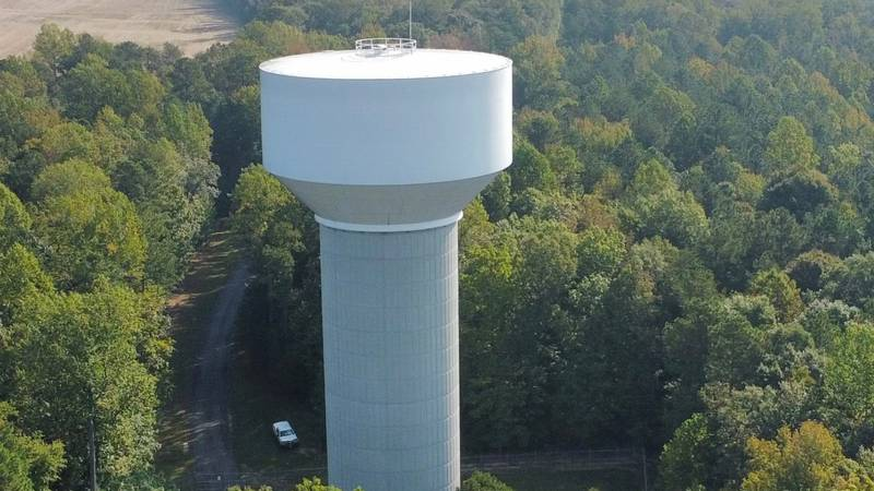 Water Tower in New Kent