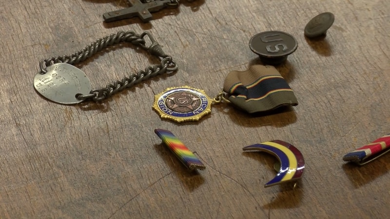 WWI items donated to Chesterfield Historical Society