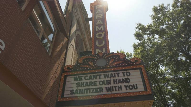The paramount added social distancing measures to increase patron safety