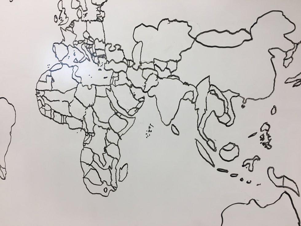 Brooks Tunstall map drawing