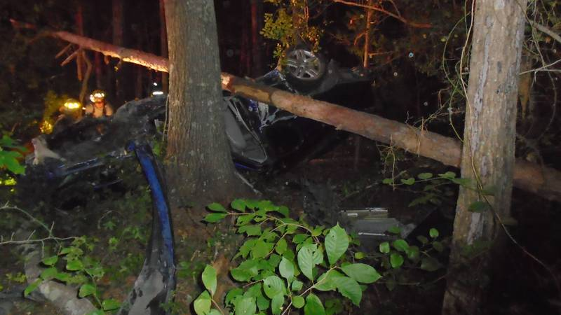 On July 25 at 8:15 p.m., state police responded to a crash on New Cox Road (Route 460).