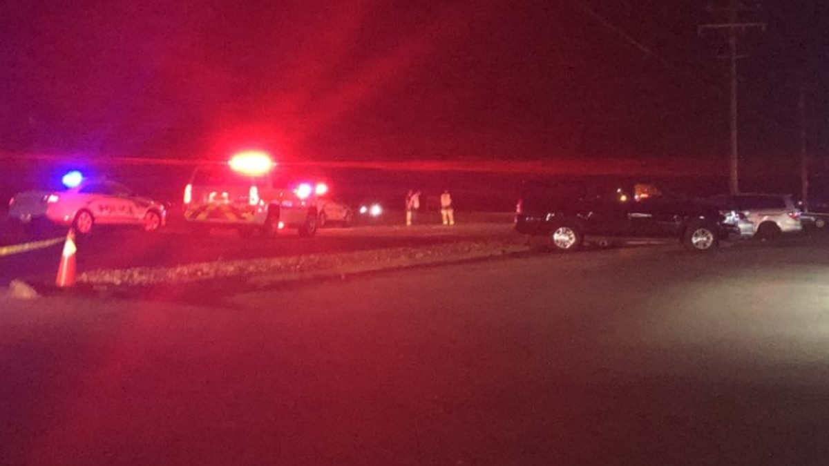 Police say one person is dead following a crash on Hull Street Road and Genito Road.