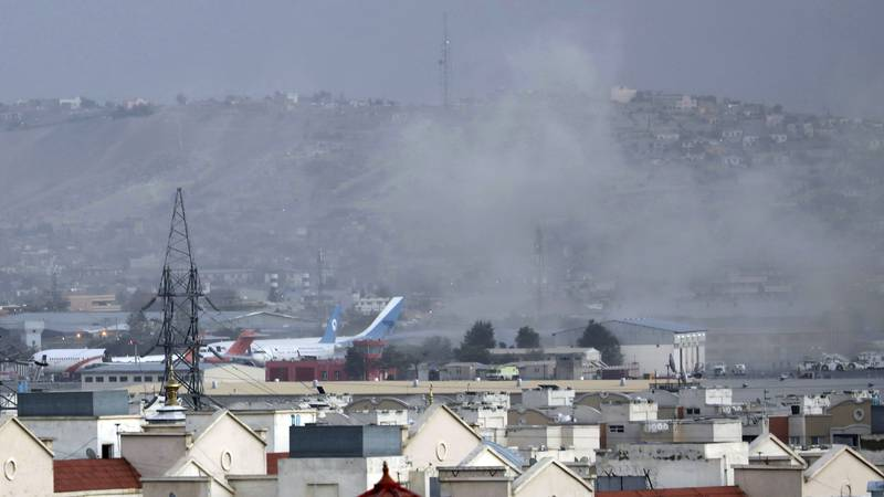 Thursday's bombings near Kabul's international airport killed at least 95 Afghans and 13 U.S....