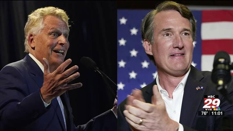 Youngkin, McAuliffe in debate over debates for Virginia gubernatorial race