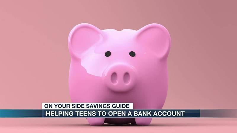 teens and bank accounts