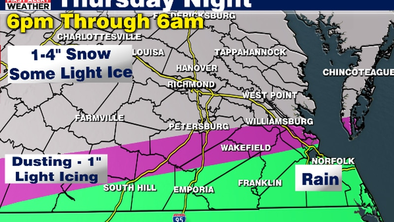 Snow Expected Tonight
